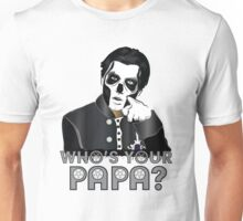 WHO'S YOUR PAPA? - papa 3 - design 5 Unisex T-Shirt