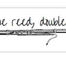 Bassoon Sticker Sticker