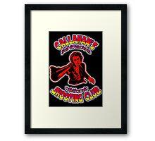 Callahan's Shooting Club Colour 4 Framed Print