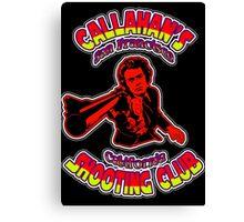 Callahan's Shooting Club Colour 4 Canvas Print