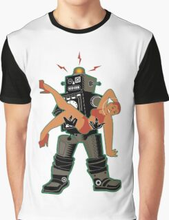 Robot-Romance Graphic T-Shirt