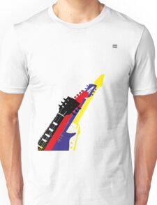 Guitars guitars guitars Unisex T-Shirt