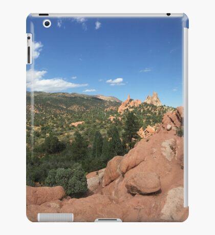 Garden of the Gods iPad Case/Skin