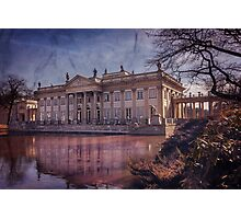 Palace on The Water  Warsaw Photographic Print