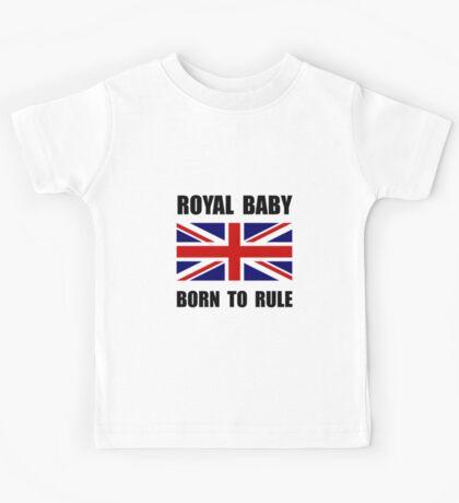 Royal Baby Rule Kids Tee