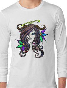 Pretty Horned Girl -BaH Long Sleeve T-Shirt