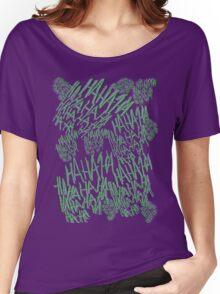 HAHAHA - Joker's Tattoo Women's Relaxed Fit T-Shirt