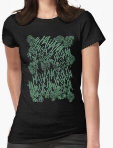 HAHAHA - Joker's Tattoo Womens Fitted T-Shirt