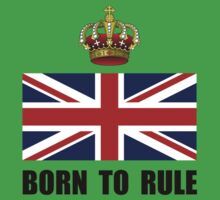 Royal Crown Rule Kids Tee