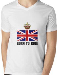 Royal Crown Rule Mens V-Neck T-Shirt
