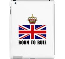 Royal Crown Rule iPad Case/Skin
