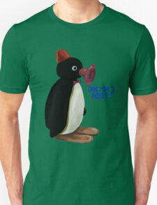 Doctor Noot - Pingu and Doctor Who T-Shirt