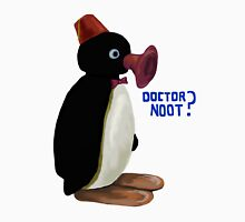 Doctor Noot - Pingu and Doctor Who Unisex T-Shirt
