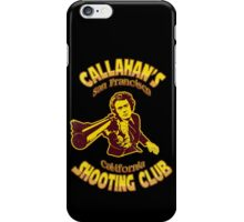 Callahan's Shooting Club Vintage iPhone Case/Skin