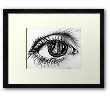 Keep Your Eye on Asgard Framed Print