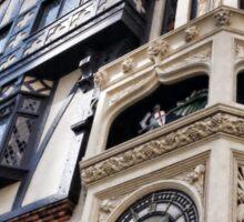 St George & the Dragon Clock Sticker