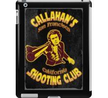 Callahan's Shooting Club Vintage iPad Case/Skin