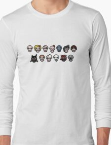 The Binding of Isaac characters Long Sleeve T-Shirt