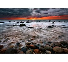 Clearing Storm At Montauk Point Photographic Print