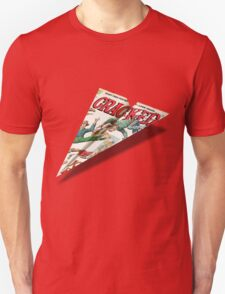 MAD Paper Airplane Cracked 112 T-Shirt