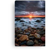 Sunrise Over The East End Canvas Print
