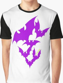 Going Batty (purple) Graphic T-Shirt
