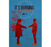 BTS Bauhaus Poster 1 Photographic Print