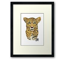 The Leopard - Bust Framed Print