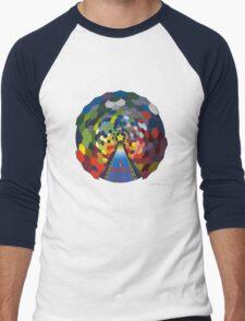 The Rainbow Road Men's Baseball ¾ T-Shirt