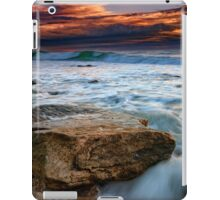 Against the Tide at Montauk Point iPad Case/Skin