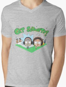 rick and morthy Mens V-Neck T-Shirt