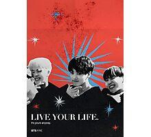 BTS Bauhaus Poster 3 Photographic Print