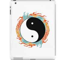 Yin-Yang Hidden Forces  iPad Case/Skin