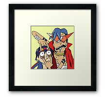rick and morthy Framed Print