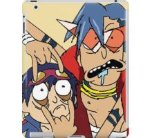 rick and morthy iPad Case/Skin