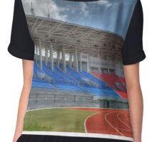 Thomas Robinson Stadium in Nassau, The Bahamas Chiffon Top