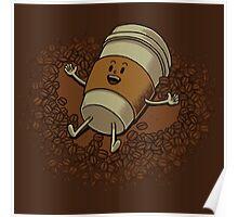 Coffee Angel Poster