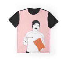Oscar Isaac Eating Cheetos with Chopsticks Graphic T-Shirt