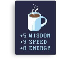Coffee Recharge Canvas Print