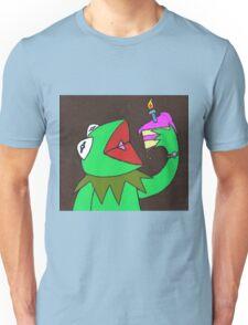 Kermit cake Unisex T-Shirt