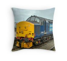 Yarmouth Tractor  Throw Pillow