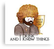 Tyrion Lannister, ASOIAF Canvas Print