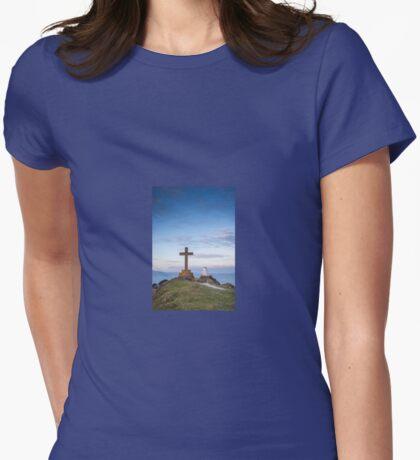 Ynys Llanddwyn (Llanddwyn Island), Anglesey, Wales UK Womens Fitted T-Shirt