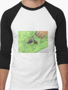 FIND ME! Men's Baseball ¾ T-Shirt