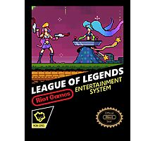 League of Legends Retro Nintendo Photographic Print
