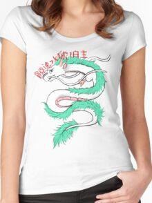 River spirit Haku Women's Fitted Scoop T-Shirt