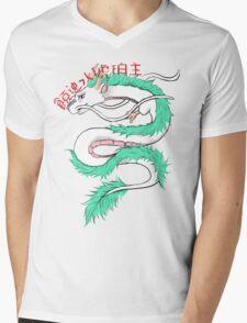 River spirit Haku Mens V-Neck T-Shirt