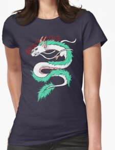 River spirit Haku Womens Fitted T-Shirt