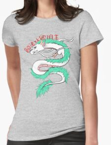 River spirit Haku Womens Fitted T-Shirt