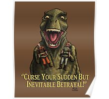 "Firefly: ""Curse your sudden but inevitable betrayal!"" Poster"